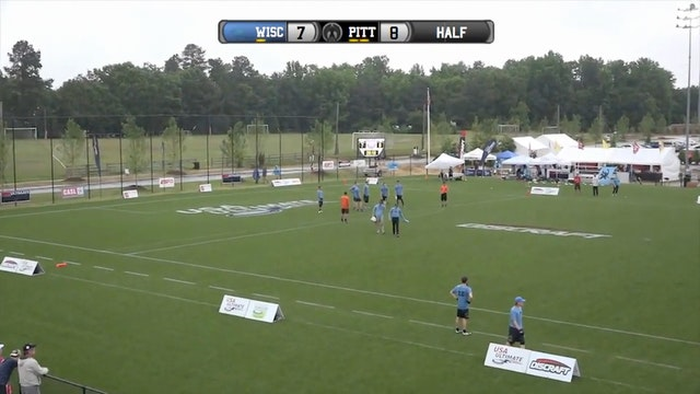 College Championships 2016: Wisconsin v. Pittsburgh (Quarterfinal)