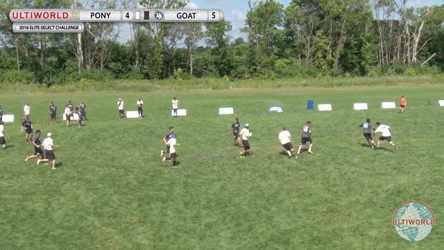 GOAT vs. PoNY | Men's Semifinal | Eli...