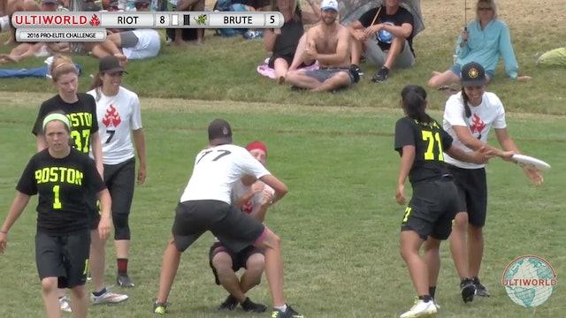 Brute Squad vs. Riot | Women's Final | Pro-Elite Challenge 2016