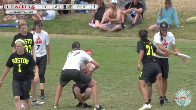 Brute Squad vs. Riot | Women's Final ...