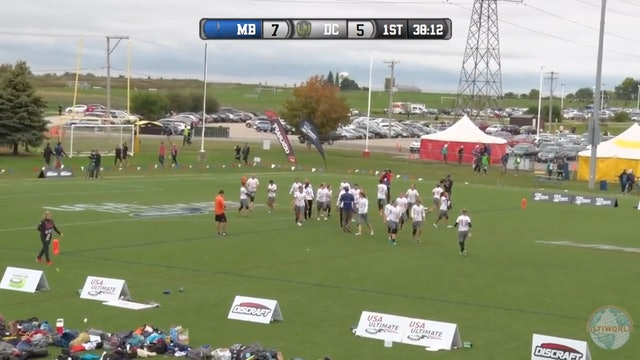 Molly Brown vs. Scandal | Women's Quarterfinal | Club Championships 2016