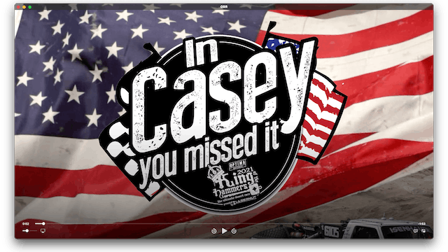 In Casey You Missed It