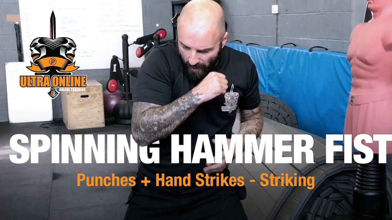Spinning Hammer Fist Ultra Krav Maga Online
