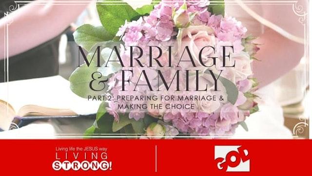 Marriage & Family (Part 2) Preparing ...