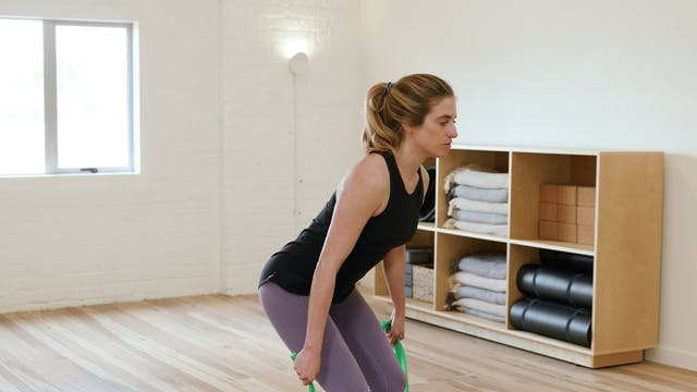 Weeks 20-25: Upper Body & Posture with Band