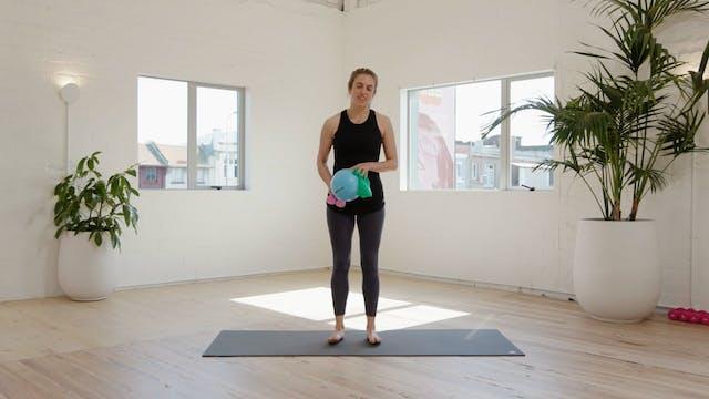 Weeks 1-12: Arm & Leg Workout