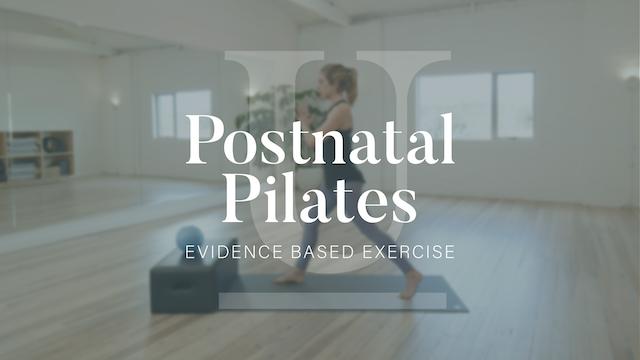 Postnatal Pilates Subscription