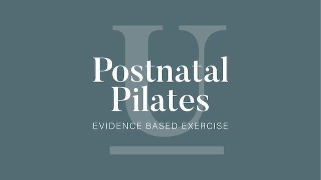 Postnatal Pilates Series