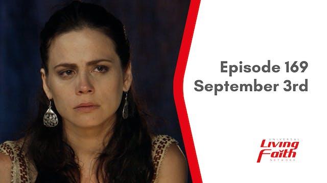 Episode 169 –September 3rd