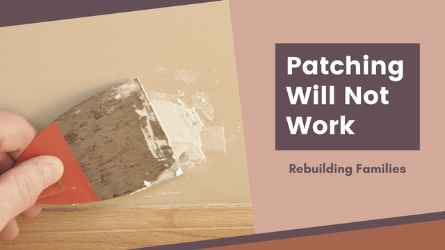Patching Will Not Work