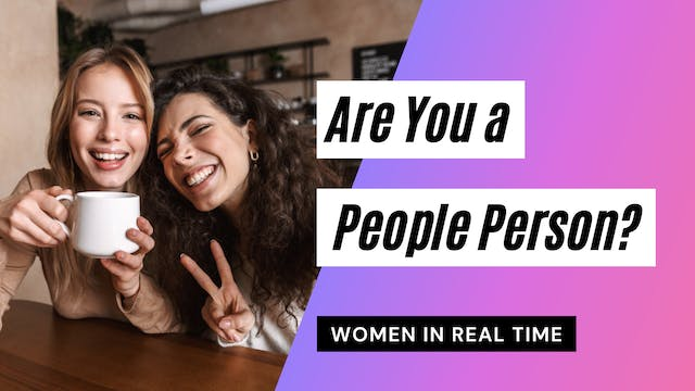 Are You a People Person?
