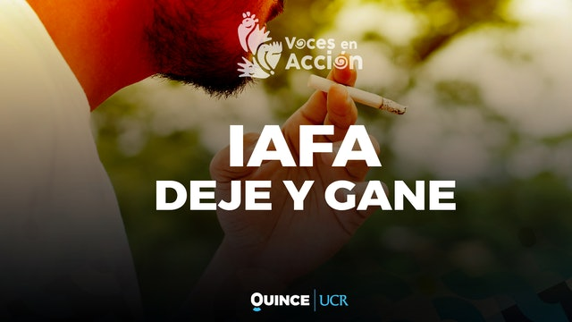 Voces en Acción: IAFA - deje y gane