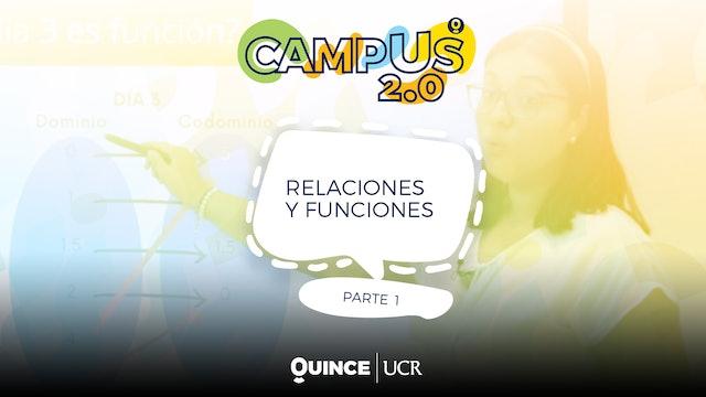Campus 2.0: Relaciones y funciones (parte1)