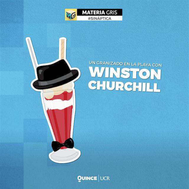 Sináptica:; Un granizado en la playa con Winston Churchill