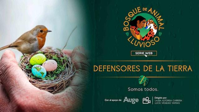 Bosque de animal lluvioso: Defensores de la tierras somos todos
