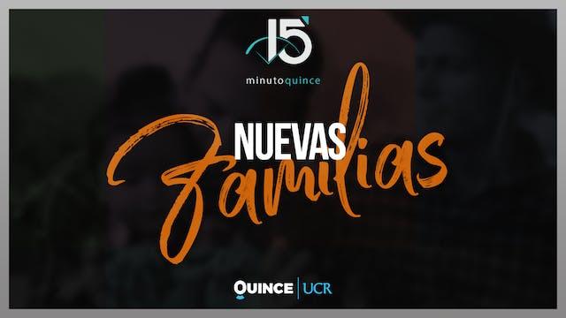 Minuto 15: Nuevas familias
