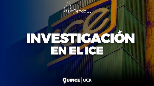 ConCiencia: Investigación en el ICE