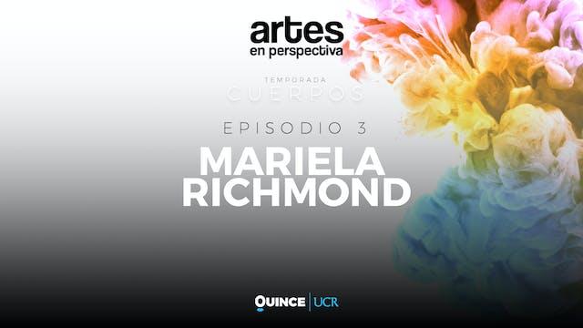Artes en perspectiva: Mariela Richmond