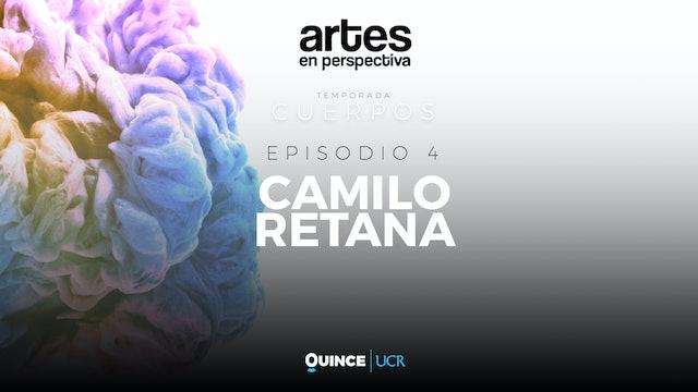 Artes en perspectiva: Camilo Retana