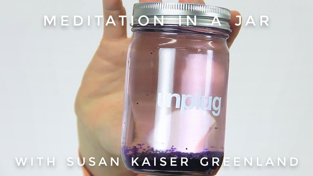 Meditation In A Jar:  Susan Kaiser Greenland