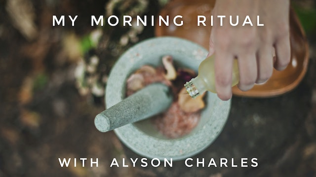My Morning Ritual: Alyson Charles