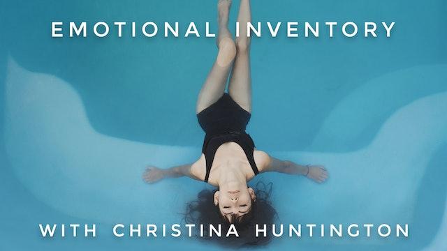 Emotional Inventory: Christina Huntington