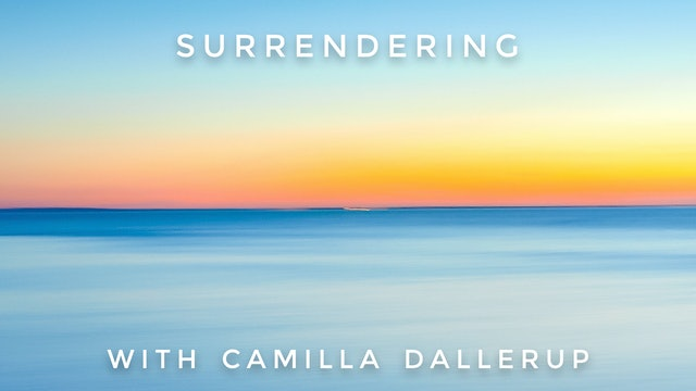 Surrendering: Camilla Sacre-Dallerup