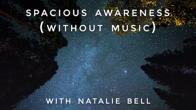 Spacious Awareness (no music): Natalie Bell