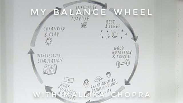 My Balance Wheel: Mallika Chopra