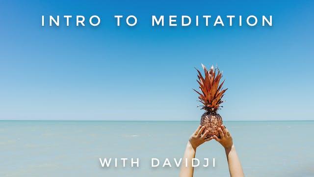 Intro To Meditation: davidji
