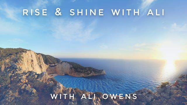 Rise & Shine with Ali: Ali Owens