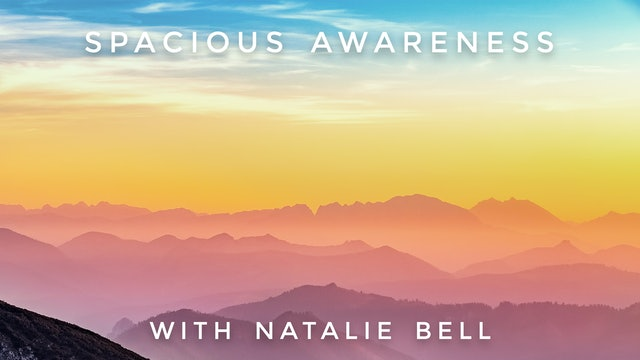 Spacious Awareness: Natalie Bell
