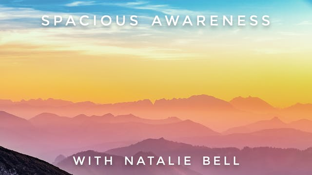 Spacious Awareness: Natalie Bell