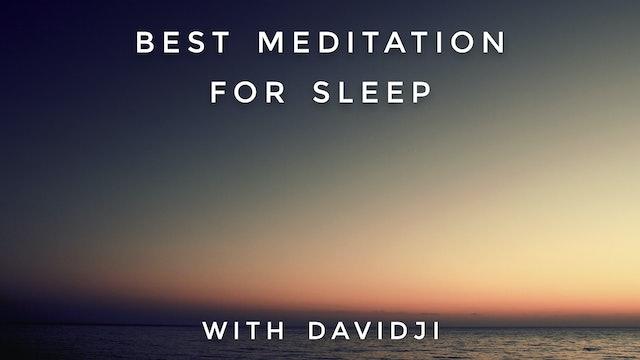 Best Meditation For Sleep: davidji