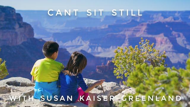 Can't Sit Still:  Susan Kaiser Greenland