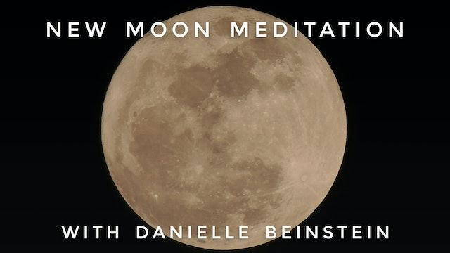 New Moon Meditation: Danielle Beinstein