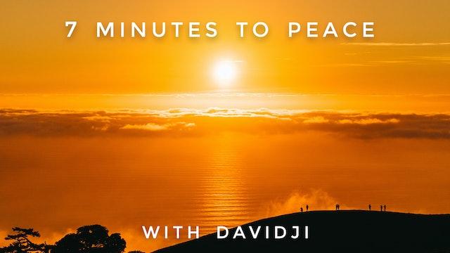 7 Minutes to Peace: davidji