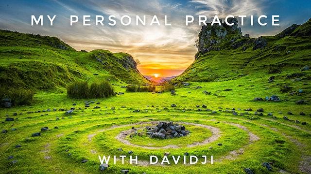 My Personal Practice: davidji