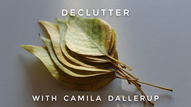 Declutter: Camilla Sacre-Dallerup