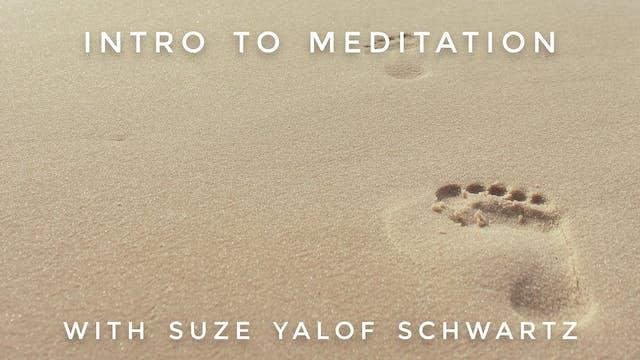 Intro To Meditation: Suze Yalof Schwartz