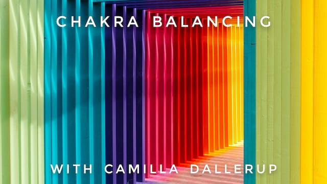 Chakra Balancing: Camilla Sacre-Dallerup