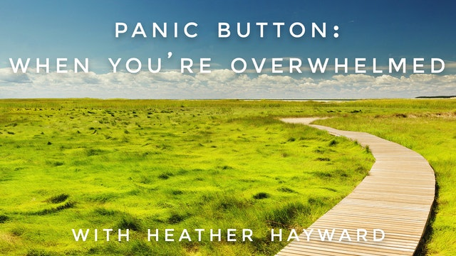 When You're Overwhelmed: Heather Hayward
