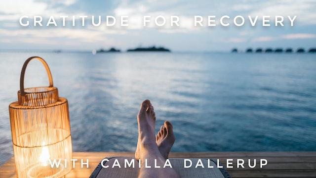 Gratitude For Recovery: Camilla Sacre-Dallerup