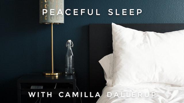 Peaceful Sleep: Camilla Sacre-Dallerup