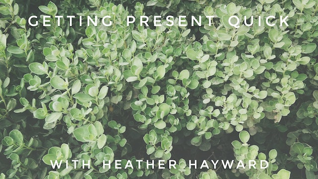 Getting Present Quick: Heather Hayward