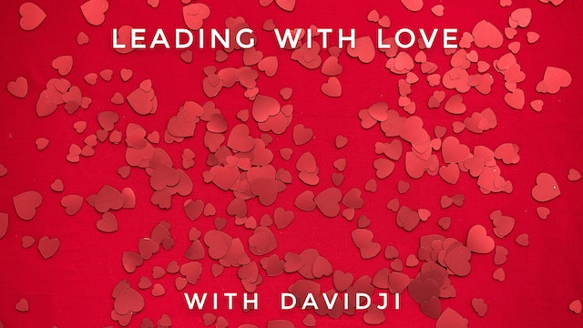 Leading With Love: davidji