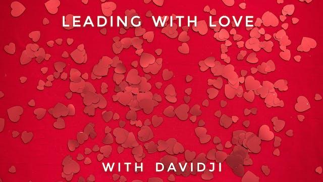Leading With Love: davidji