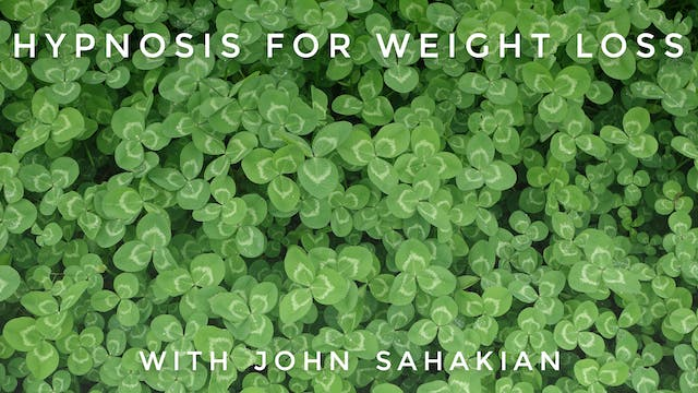 Hypnosis For Weight Loss: John Sahakian