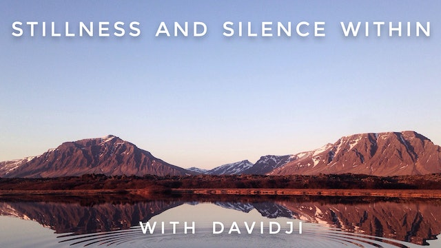 Stillness and Silence Within: davidji