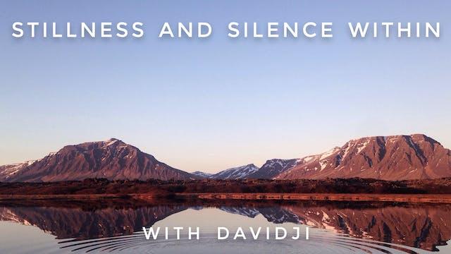 Stillness and Silence Within: davidji